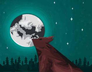 Wolfhead by cutecatandrabbit