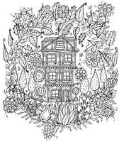 Little House In The Woods by WelshPixie