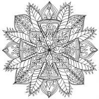 Celtic Cross Mandala by WelshPixie