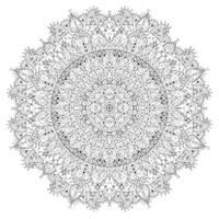 Large Floral Mandala by WelshPixie