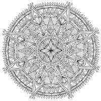 Diamonds Mandala by WelshPixie