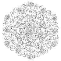 Butterflies mandala by WelshPixie