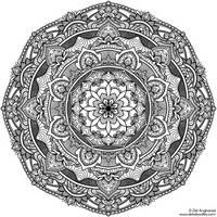 Krita Mandala 17 by WelshPixie