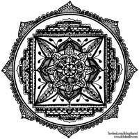 Traditional Mandala by WelshPixie