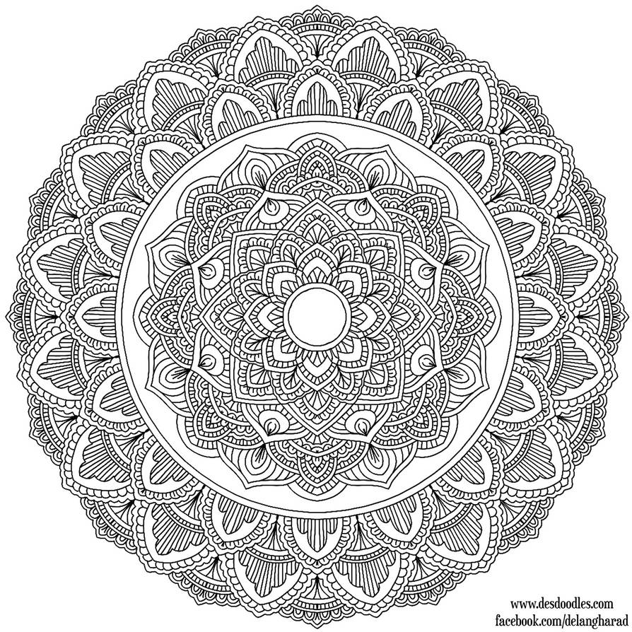 Krita Mandala 36 by WelshPixie