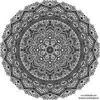 Krita Mandala 47 by WelshPixie