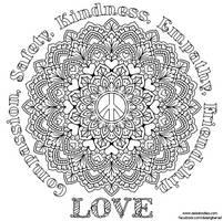 Peace Mandala by WelshPixie