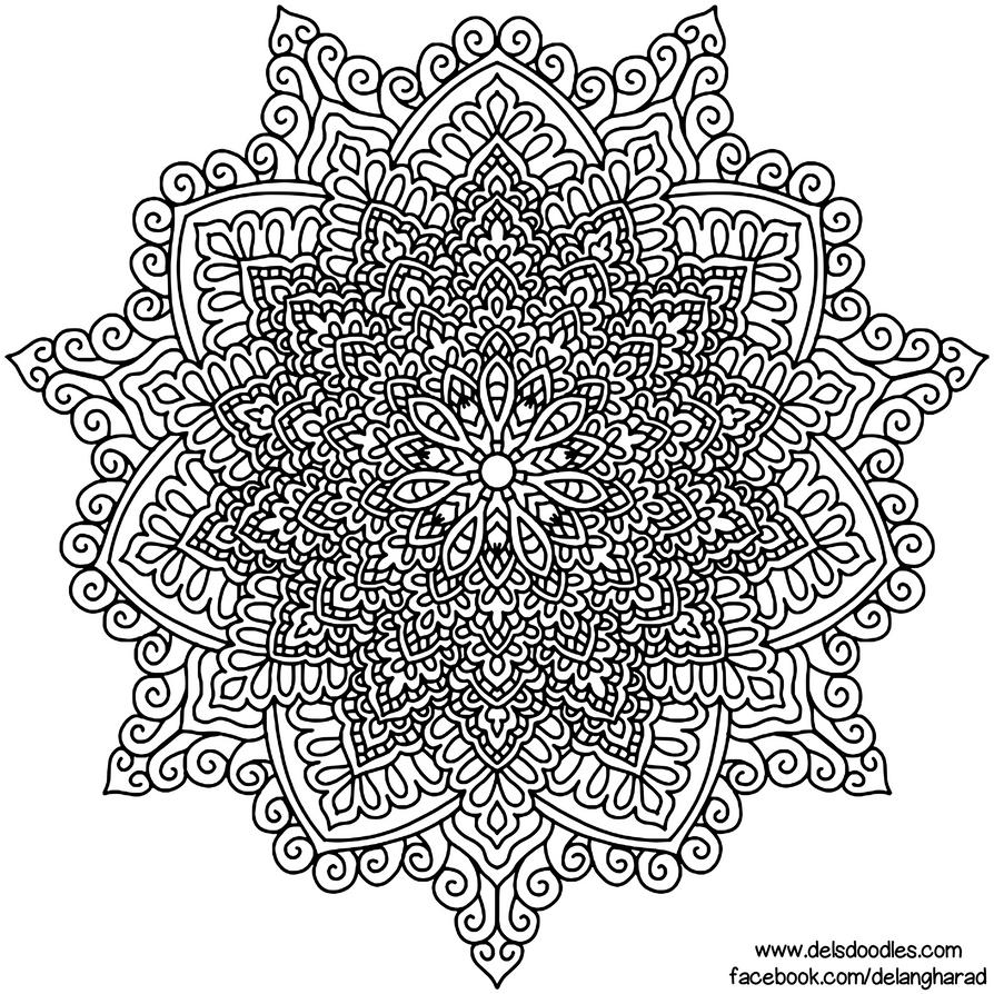 Krita Mandala 56 by WelshPixie