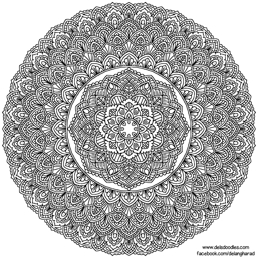 Krita Mandala 53 by WelshPixie
