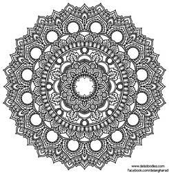 Krita Mandala 60 by WelshPixie