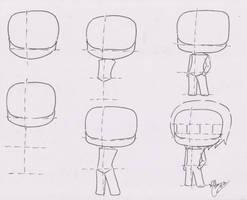 Chibi Manga Tutorial: Male 01 by FutagoFude-2insROID