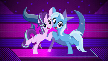 Trixie and Starlight by Laszl