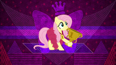 Champion Fluttershy by Laszl