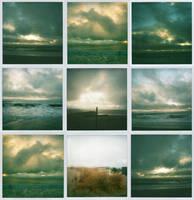 stormy ocean by bluecitrusart