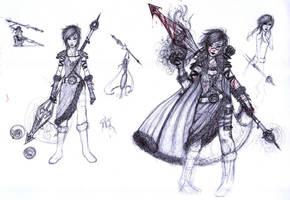 Warrior Concept by TheJoanaPADJ