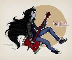 Marceline! by TheJoanaPADJ