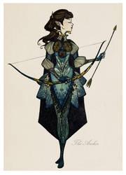 The Archer by TheJoanaPADJ