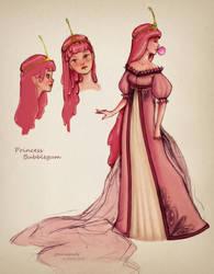 Princess Bubblegum by TheJoanaPADJ