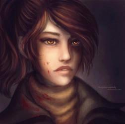 Evelyn - Bloodborne by TheJoanaPADJ