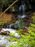 Little Waterfall 2 by Misfit0481
