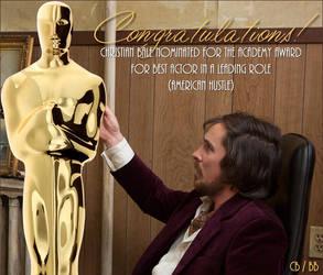 Bale 4 Oscar! by dinatzv
