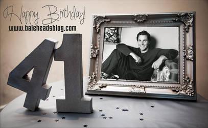 Happy 41st birthday, Christian Bale! by dinatzv