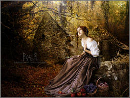 Essence of an Autumn Evening by EmberRoseArt