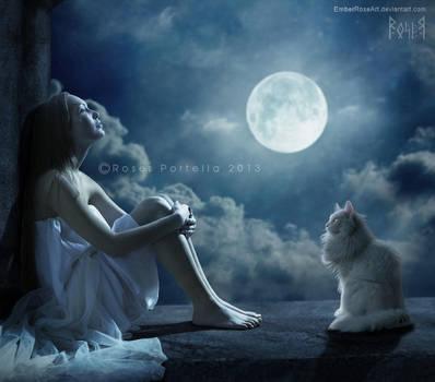 Moontears by EmberRoseArt