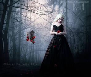 Roses for Her by EmberRoseArt