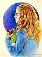 Hermione. Harry Potter by Knesya27