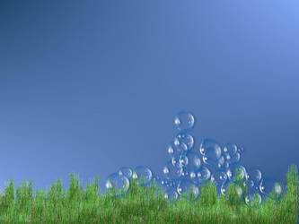 Flying Bubbles by fma