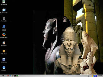 Egyptian Desktop by fma