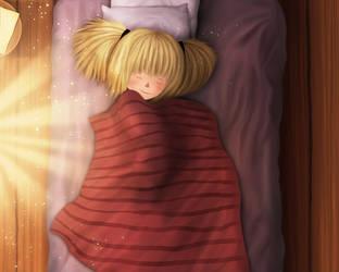 Beautiful Name - Mo sleeping by Maheen-S
