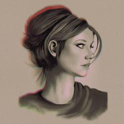 Lauren Cohan - Quick Study by Maheen-S
