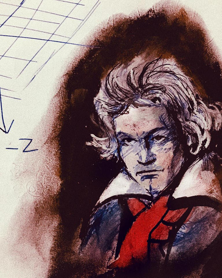 Beethoven by Maheen-S