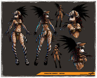 Tikitkah Final Concept by Texelion