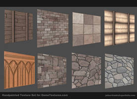 Handpainted texture set by Texelion