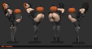 Pumpkin Wip 01 by Texelion