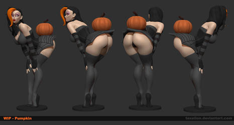 Pumpkin Wip 01 by Texelion