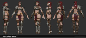 Barbarian Wip01 by Texelion
