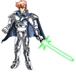 Max from Shining Force 1 - Redrawn by stordarth