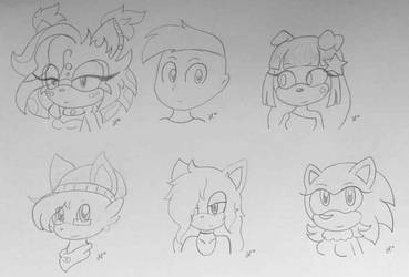 request sketches by Huatay
