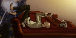 Dragon Age - Solas Reading by YukiSamui