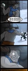 Dragon Age Comic - Snowbull by YukiSamui