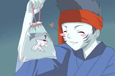 Kisame for Tryus-San by artemis-girl