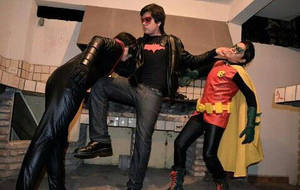 Robin,Nightwing and Red Hood by Elliot-Baskerville