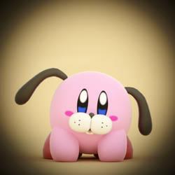 Duck Hunt Kirby by SmashingRenders