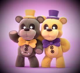 Plush Bears! by SmashingRenders