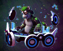 Commission: Kyro Rave! by SmashingRenders