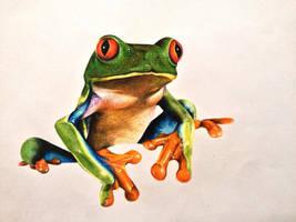 Treefrog ! by CarolineSalinas